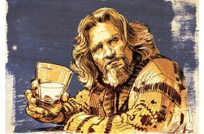 "With the 10th Annual Lebowski Fest kicking off later this week in Louisville, Kentucky, Miiller-McCune looks at scholarly papers inspired by the Coen brothers 1998 film. To wit:  Grasping to explain this appeal, Comentale and Jaffe point to a minor character in the film: ""The Stranger,"" portrayed by Sam Elliott, a veteran of numerous Westerns. Dressed in traditional cowboy garb, he emerges occasionally to provide background information, analysis and commentary. In their words, ""he just points at something interestin' and gently nods"" — a watch-and-learn stance that is the foundation of academic research. The Dude abides, but The Stranger annotates.  Tom Jacobs, Miller-McCune. Scholars and The Big Lebowski: Deconstructing The Dude."
