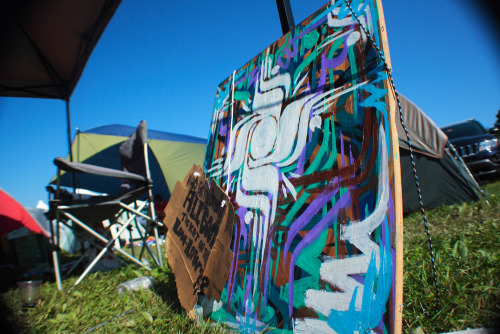 My  live painting from Camp Bisco -TR