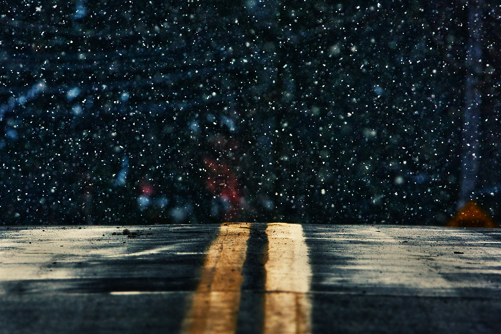 winter road (by Ed Karjala)