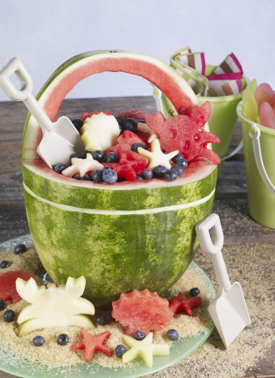 Watermelon Beach Basket