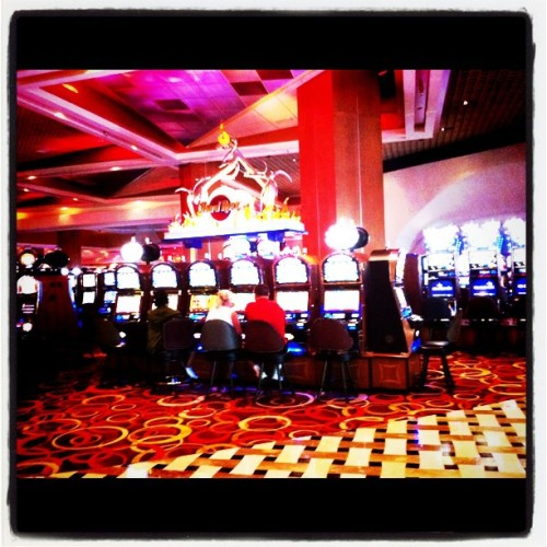 Slot machines (Taken with instagram)