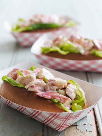 My daughter does not understand my love for lobster rolls.  I explained it in a way  that she would understand.  Lobster is the Chanel of the sea. (casasugar)