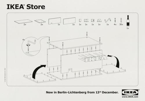 Clever IKEA ad. jaymug:  IKEA New Berlin Store Advertising: Store Opening