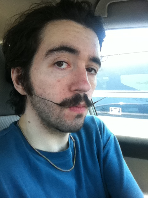 I'm having a good mustache day.