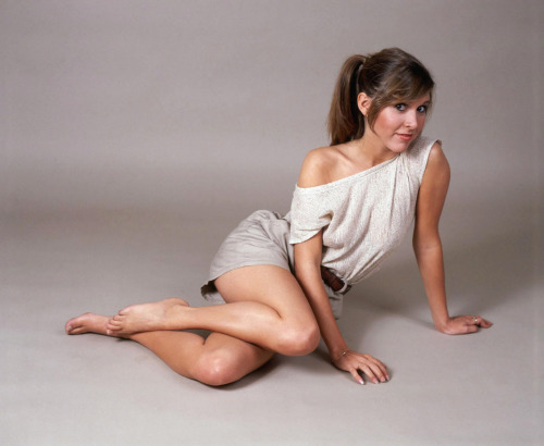 superseventies:  Carrie Fisher, 1970s.