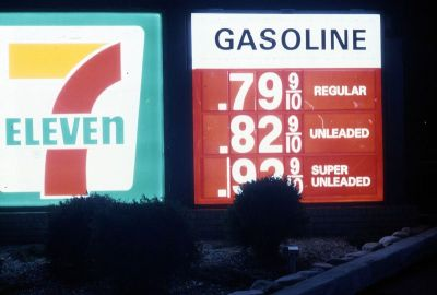 fuckyeah1990s:  Are these gas prices in the 90s?  I would kill for this… -KC