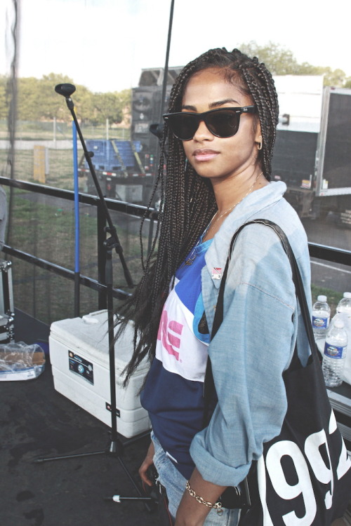 braided at hardfest by mel d. cole (2010)