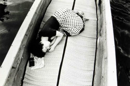 Untitled from the series: 'My Wife Yoko.' 1967-1975  © Nobuyoshi Araki [ taken on their honeymoon]  from Silent Wishes exhibition at the Deichtorhallen, Hamburg & wayneford