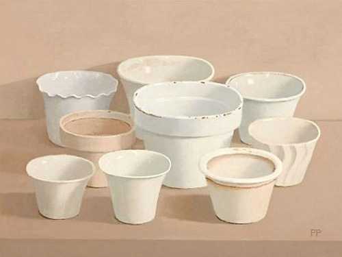 Peter Plamondon White Pots 2011