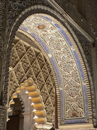 Real Alcazar, Seville, Spain (by stephenweaver)