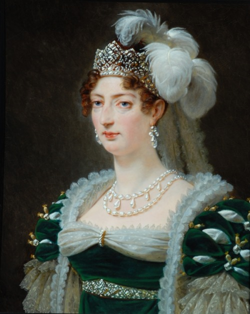 The Duchess of d'Angouleme by Baron Antoine-Jean Gros, 1817 France, the Bowes Museum