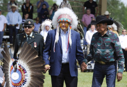 Chief Speaker: Stephen Harper Named Honorary Chief of Blood Tribe Nah, native. NAH….