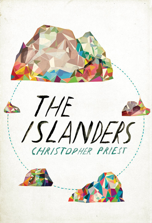 THE ISLANDERS The Islanders is a novel that will be published by Orion Books. Funny thing about this project is that the client had the whole concept comped up for me from the get-go. Thankfully, the idea was a smart one, and a composition that I could really get excited about. The art director, Raquel Leis Allion, did a wonderful job pushing this abstracted technicolor illustration through to completion.