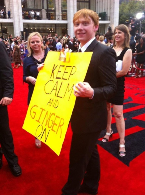 #103 - keep calm and ginger on