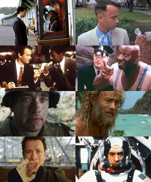 Tom Hanks Memorable Characters/Movies
