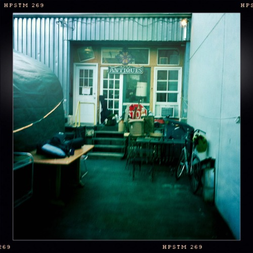 Practice Space John S Lens, Pistil Film, No Flash, Taken with Hipstamatic