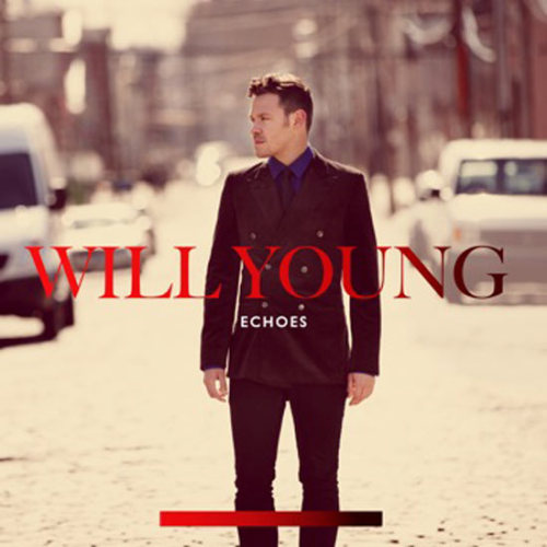 BREAKING NEWS: I now, as of this second, have a crush on Will Young.  Echoes cover art - Will Young
