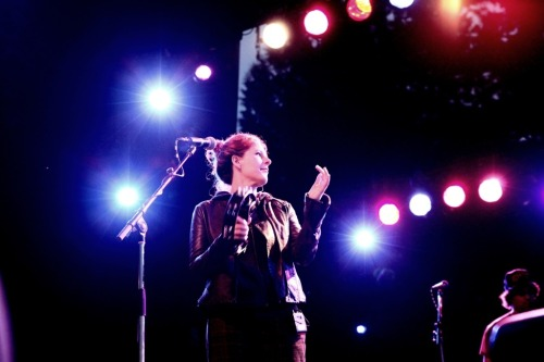 32memories:  Neko Case with The New Pornographers at Summer Live in Stanley Park, Vancouver, July 9 2011PHOTO BY ANJA WEBER