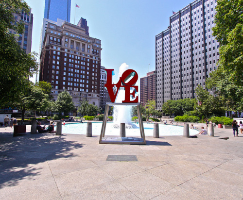 LOVE Square on Flickr.Love Square in Philly - beautiful Sunday afternoon in the city of brotherly love.
