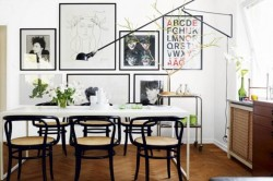 thedecorista:  dining room fun!