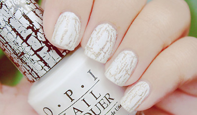I want white shatter nail polish :)