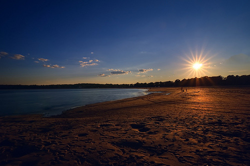 Orchard Beach, New York City (by mudpig)