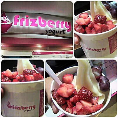 Frizberry frozen yogurt. Around early 2010 when Cebu only had two froyo stores and Cagayan de Oro had none. I flew to Cebu intent on satisfying my cravings!