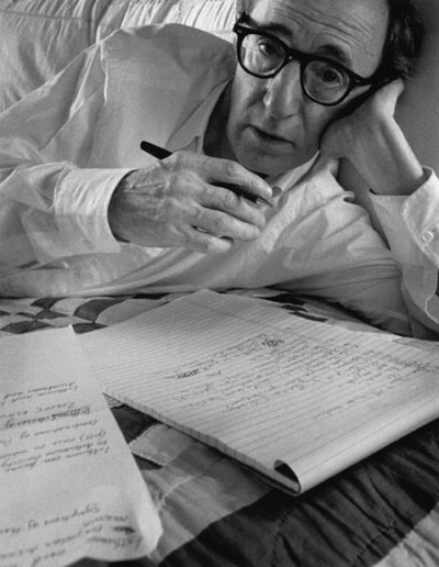 manteaux:  Woody Allen, New York, 1996