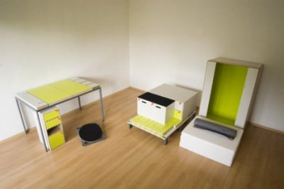 Casulo: An Entire Apartment's Furniture in One Small Box