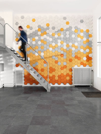 suchdesign:  Hexagon wall tiles