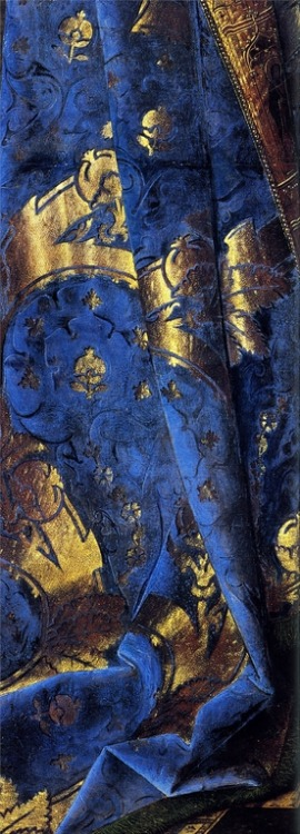 timeimmemorial:  Detail from Madonna With Canon van der Paele - Jan van Eyck, 1432-36