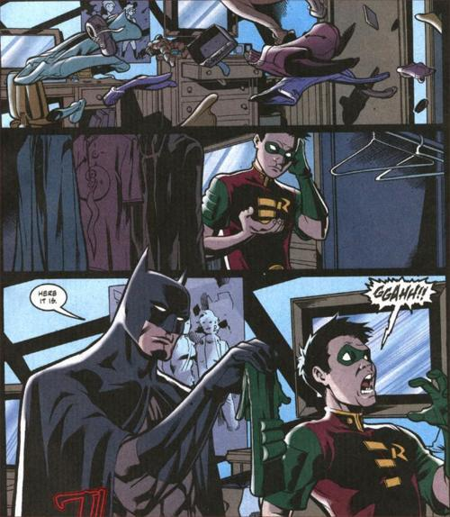 Way to be a creeper, Batman.