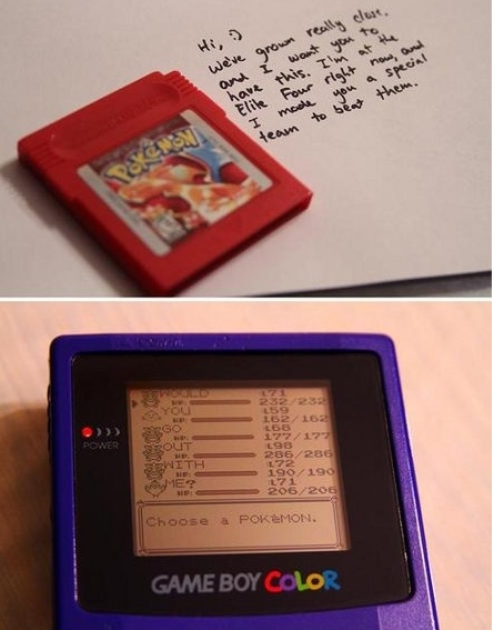 going to propose to my future wife this way.