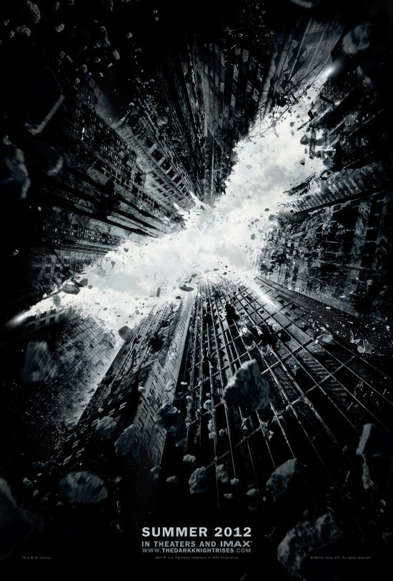 The Dark Knight Rises teaser poster. I like it.
