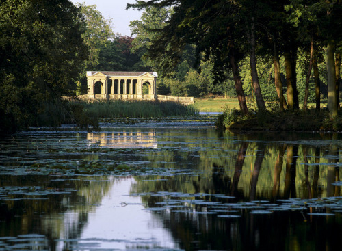 Palladian Bridge by StoweNationalTrust on Flickr. might go there this weekend for a relaxing trip :DD