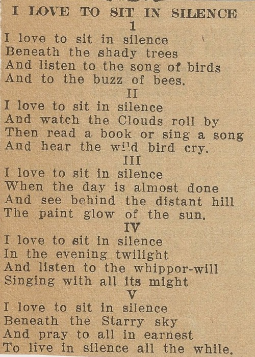 lsdemon:  i found this old newspaper clipping in a poetry book that i got at a flea market, i also found a daisy and a love letter