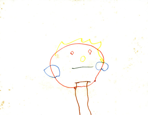One of my earliest drawings at 2.5 years old