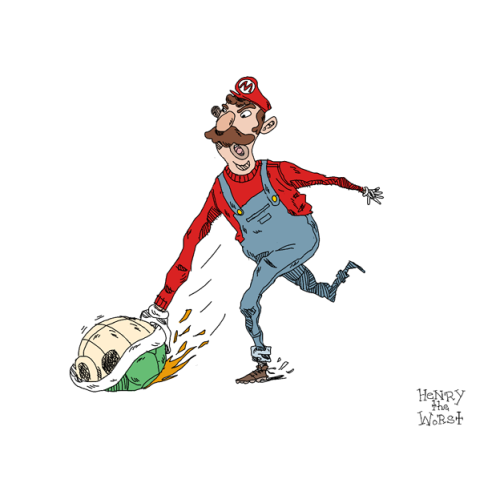I Heart the 80's 12 of 30: Mario