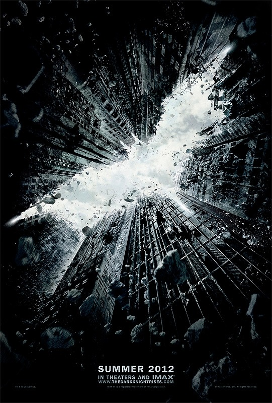 The first official teaser poster for Christopher Nolan's final Batman film The Dark Knight Rises has just been released! Check it out above! p.s - did anyone else hear the rumours that the first teaser trailer for TDKR would be shown before the final Harry Potter film? I hope it's true!! Follow @hmvtweets