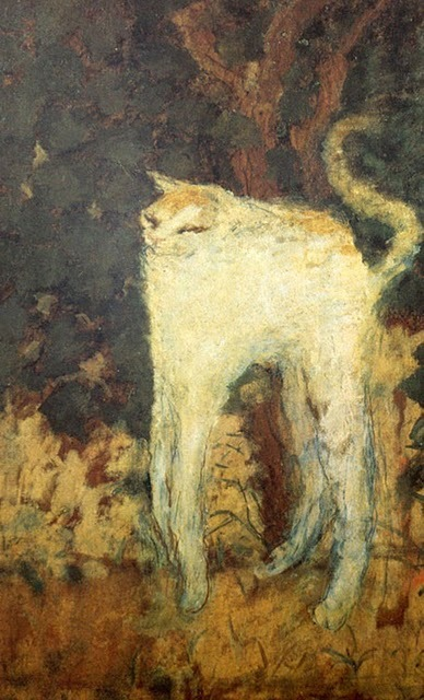 Pierre Bonnard - White Cat, 1894