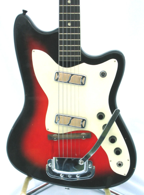 Early 60s Harmony H-15 Bobkat