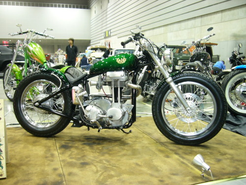 What a nice customised AJS