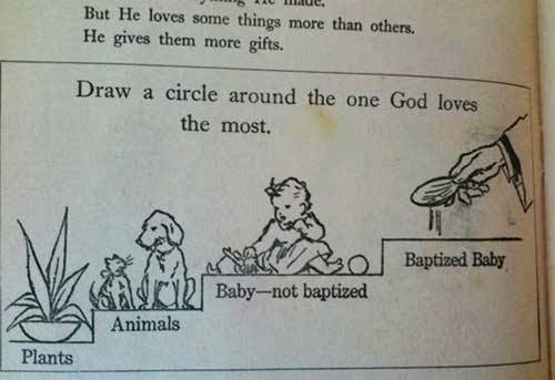 theclearlydope:  I'm no GOD but I'm picking animals. Not a fan of wet babies.