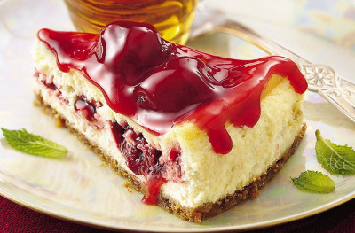 Razzle-Dazzle Berry Cheesecake Recipe by Betty Crocker Recipes on Flickr.