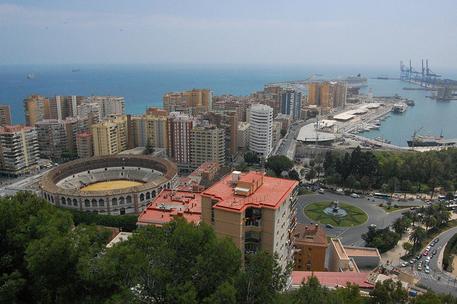 View of Malaga on Flickr. Malaga, Spain (c) Bree Sage