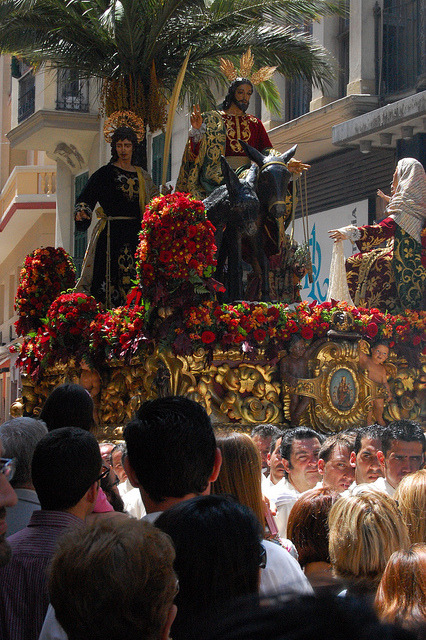 Semana Santa on Flickr. Holy Week in Malaga, Spain (c) Bree Sage