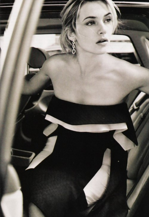 Kate Winslet Photographer:  Mario Testino