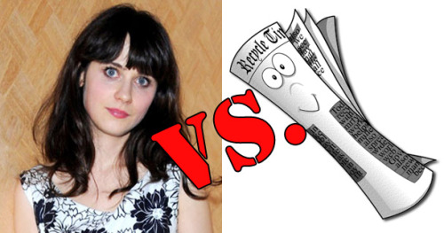 The Zooey Deschanel Vs. The Los Angeles Times Feud Is The Worst Feud | Videogum