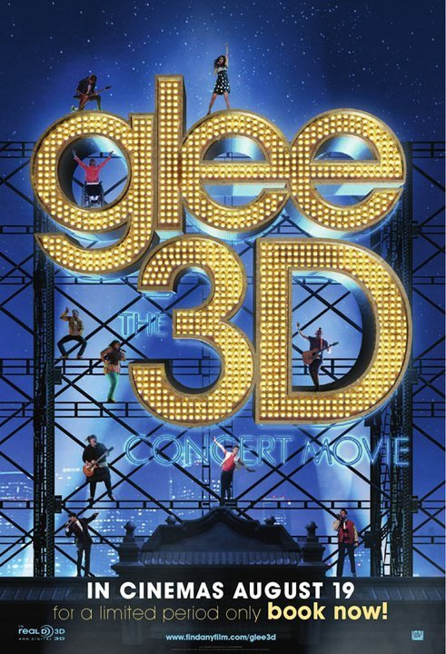 Poster: Glee: The 3D Concert Movie | IMP  Really? Whyyy?