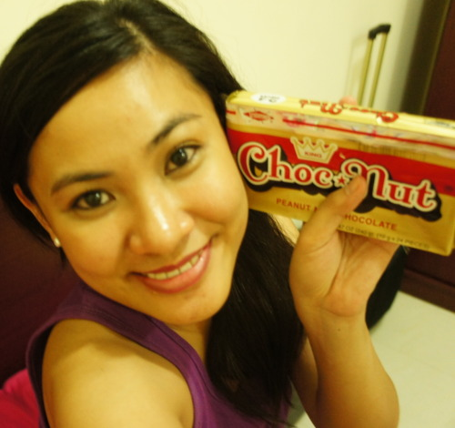 Thank you Cams for my Choc-Nut!!!! :)